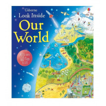 【限時78折】英國 Usborne-Look Inside Our World 地球百科翻翻書