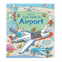 【限時78折】英國 Usborne-Look Inside an Airport 航空百科翻翻書
