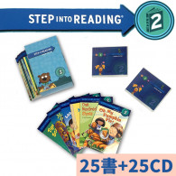 【75折】Step Into Reading STEP 2(25書+25CD)