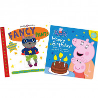 【歡樂派對遊戲書】Happy Birthday Peppa Pig+Fancy Pants