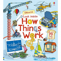 禮筑 英國 Usborne-Look Inside How Things Work 生活百科翻翻書