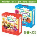 Nonfiction Sight Word Readers A+B│常見字小書(入門組)