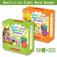 【75折】Nonfiction Sight Word Readers C+D│英語常見字小書(進階組)