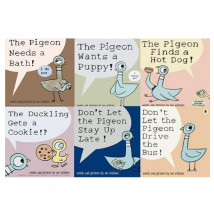 The Mo Willems Pigeon Book Collection (6平裝)
