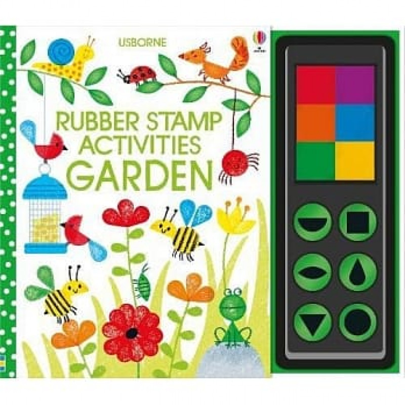 Rubber Stamp Activities Garden 印章遊戲書