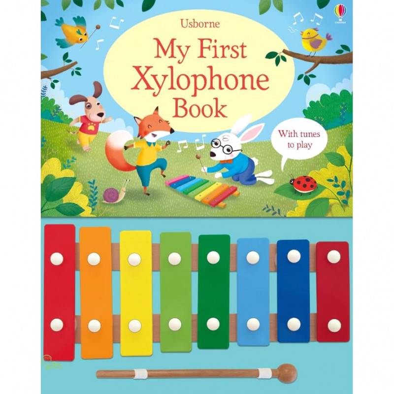 優惠599↘ My First Xylophone Book (木琴遊戲書)